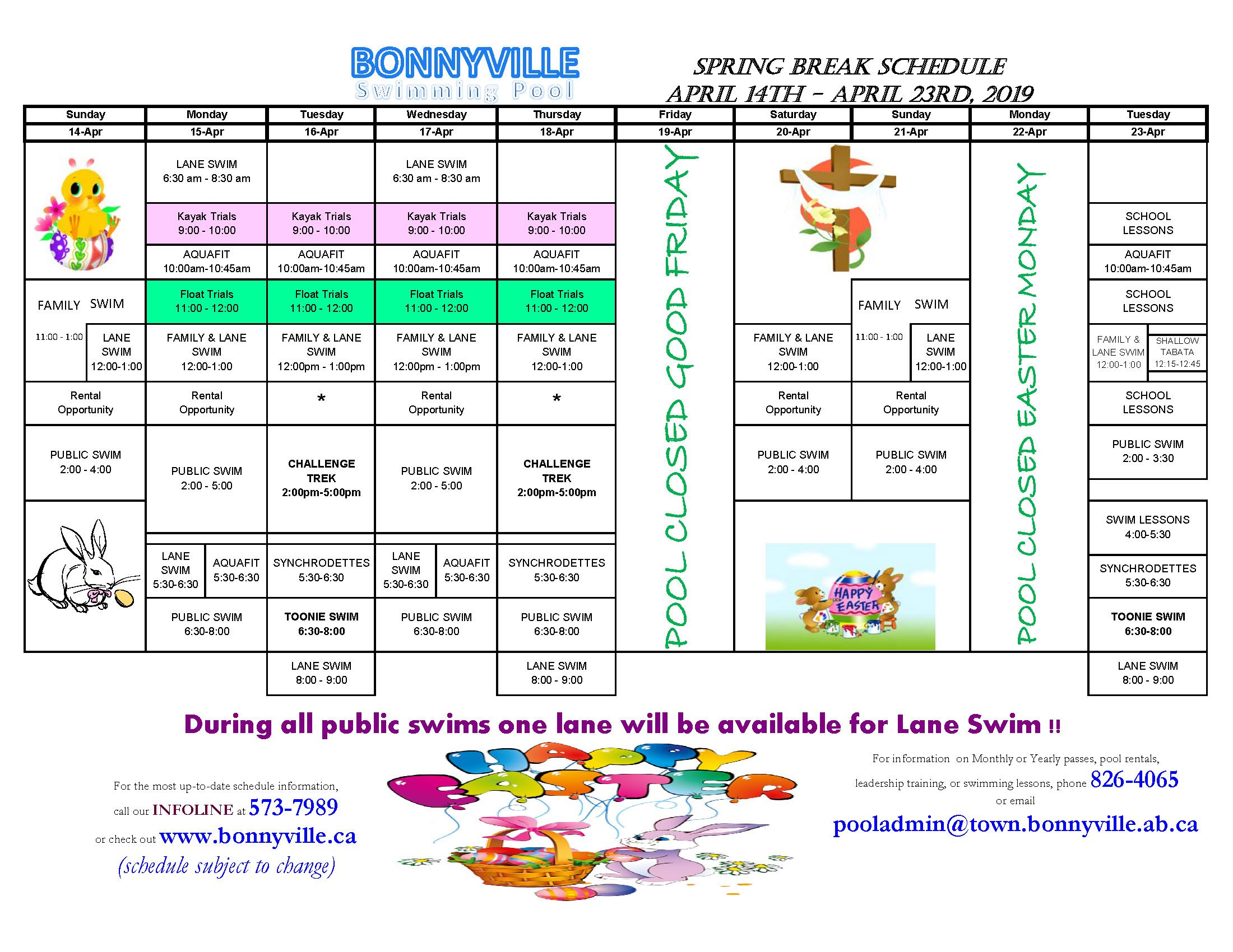2019 Easter Break  Schedule Public_Page_2