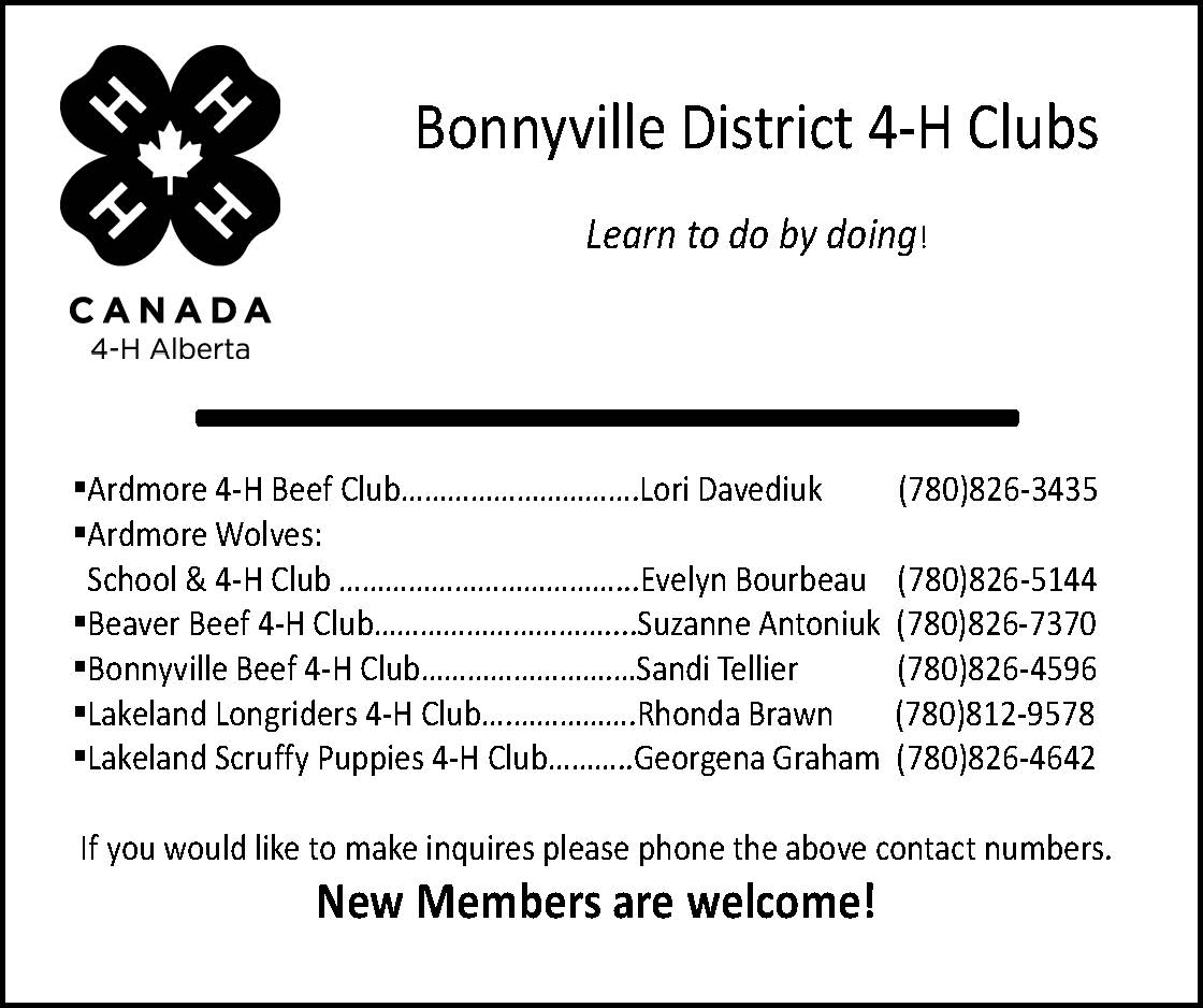 4-H District ad