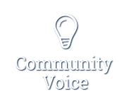 Community Voice - Tell us your ideas and suggestions